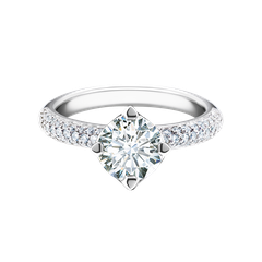 Forevermark Setting™ Solitaire Ring